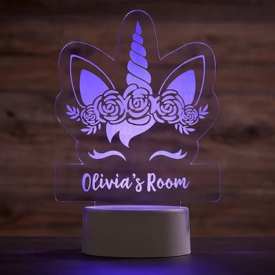 Unicorn Personalized LED Sign