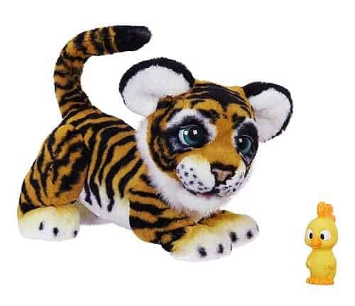 furReal Roarin' Tyler, the Playful Tiger | Plush Interactive Toy