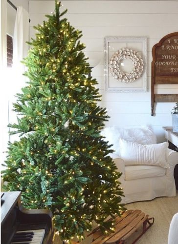 7.5 Ft King Fraser Fir Quick-Shape Artificial Christmas Tree