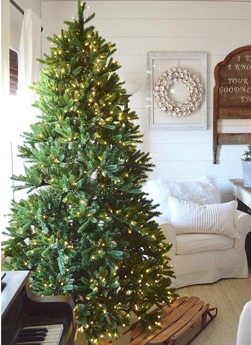 7.5 Ft King Fraser Fir Quick-Shape Artificial Christmas Tree