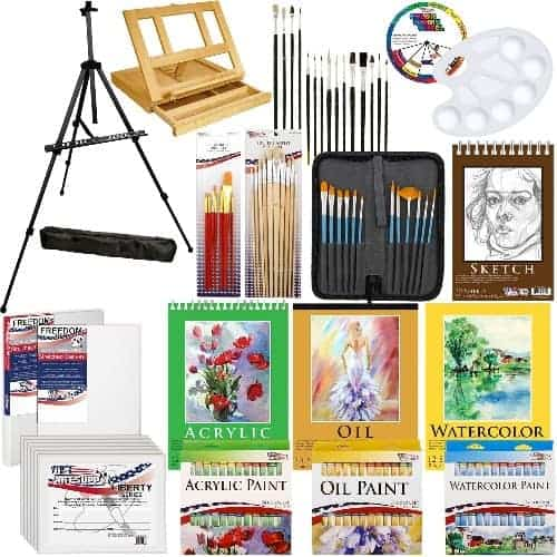 Art Sets With Easel