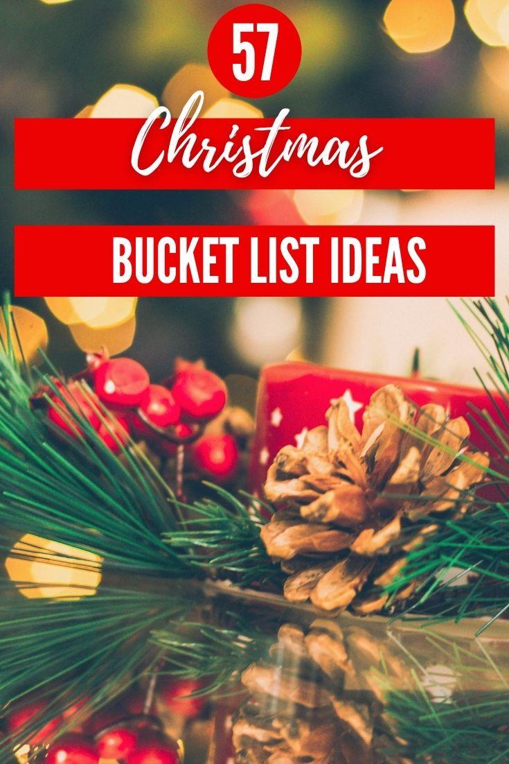 Christmas Bucket List Ideas