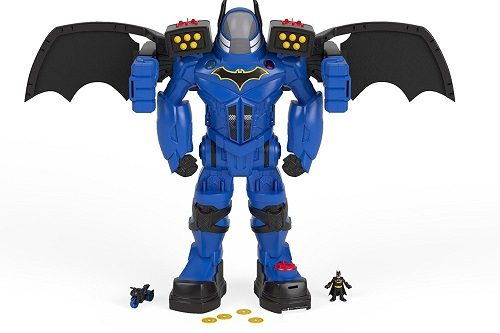 Imaginext DC Super Friends Batbot Xtreme is over 2 ft tall!