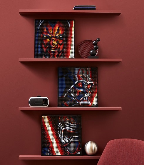 LEGO Art Building Sets Star Wars The Sith