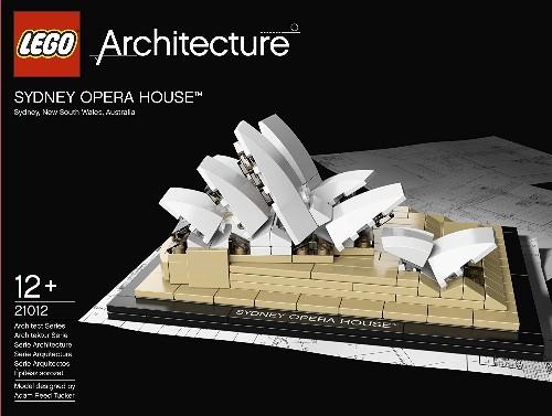 Lego Architecture Sydney Opera House