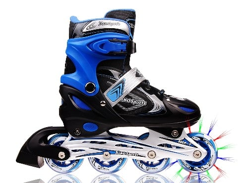 Adjustable Inline Skates for Kids - Roller Skates For Kids