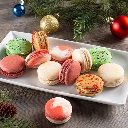 Christmas Holiday Macarons