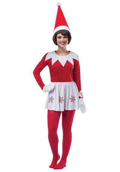 Elf On The Shelf Costume For Women
