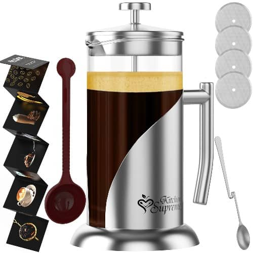 French Press Coffee Tea Maker