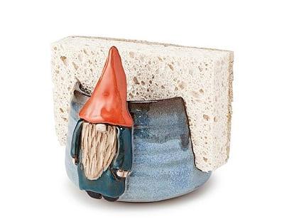 Handmade Gnome Sponge Holder