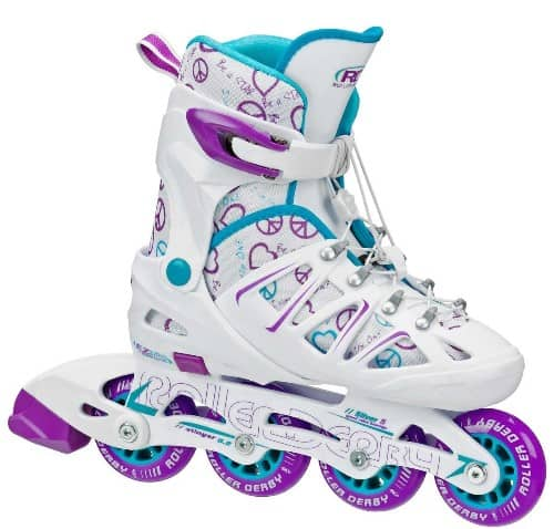 Roller Derby Girls Stinger Adjustable Inline Skates - Roller Skates For Kids