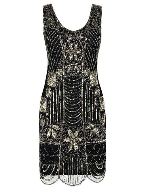 Sequin Gatsby Style Cocktail Dress