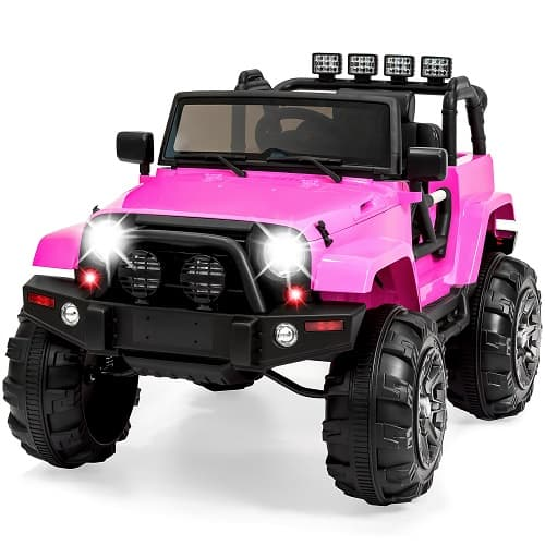 Christmas Gifts for Girls Age 2 | 12V Kids Ride On Truck with Remote Control