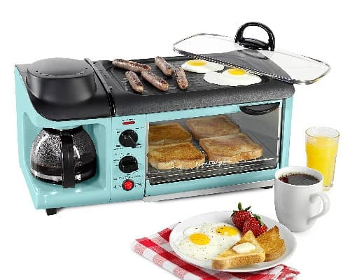 retro series 3 in 1 breakfast station christmas gifts for college girls - Christmas Gifts For College Girl