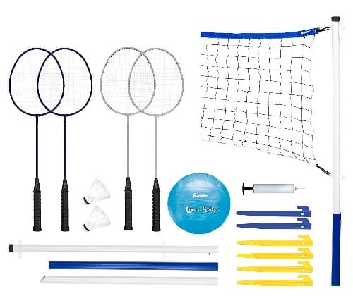 Badminton and Volleyball Combo Set