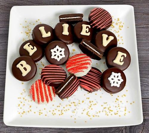 Believe Christmas Oreo Cookies