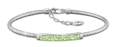 Charles Garnier Designer Personalized Birthstone Bracelet