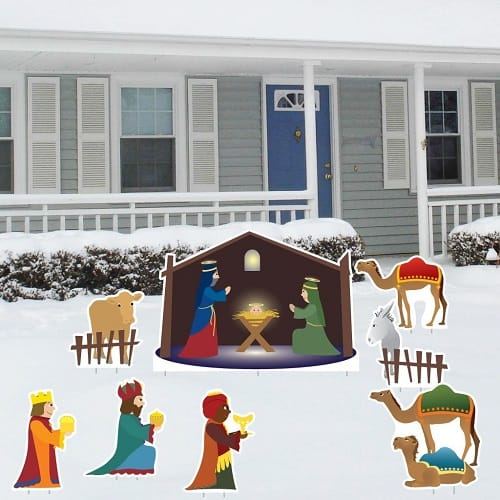 Christmas Nativity Scene - Outdoor Christmas Nativity Sets