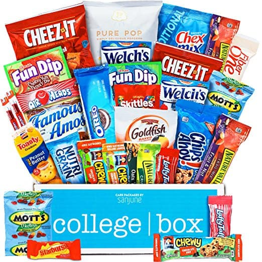 CollegeBox Classic Snacks Care Package