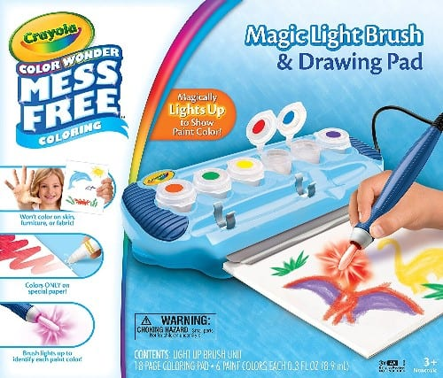 Crayola Color Wonder Magic Light Brush & Drawing Pad