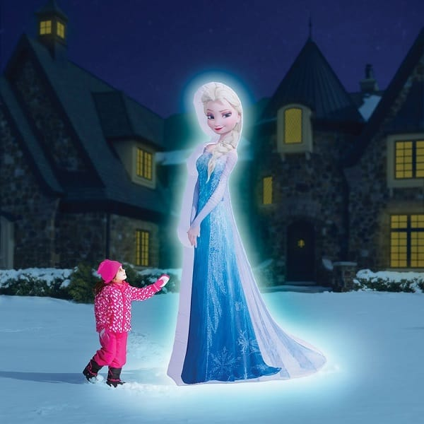 Disney Frozen 8 ft Lighted Photorealistic Elsa Christmas Inflatable