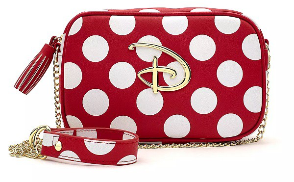Disney Polka Dot Crossbody Bag by Loungefly