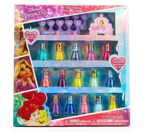 Disney Princess Peel Off Nail Polish Gift Set for Kids