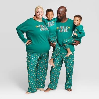 """""""Feliz Navidad"""" Family Pajamas"""