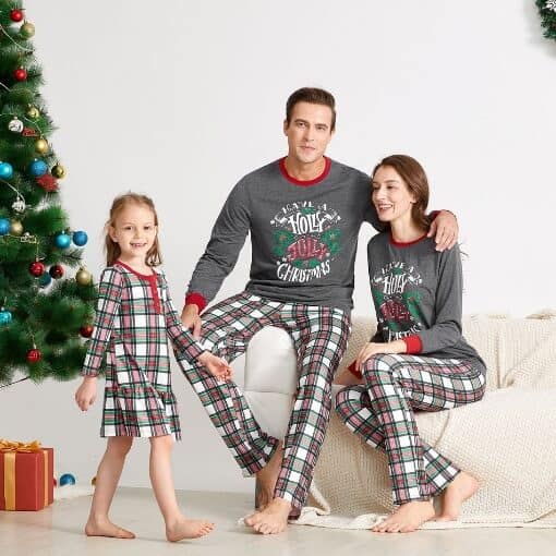 Holly Jolly Christmas Pajamas for The Whole Family