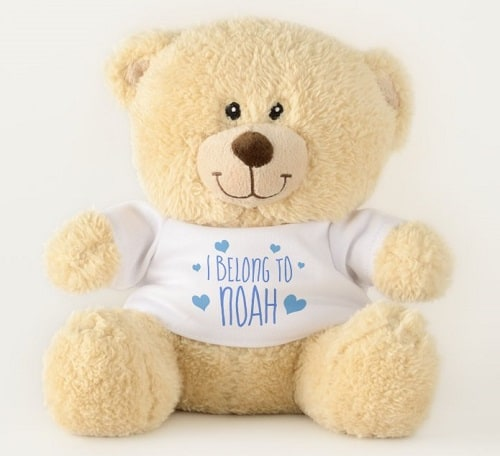 I Belong To Personalized Teddy Bear