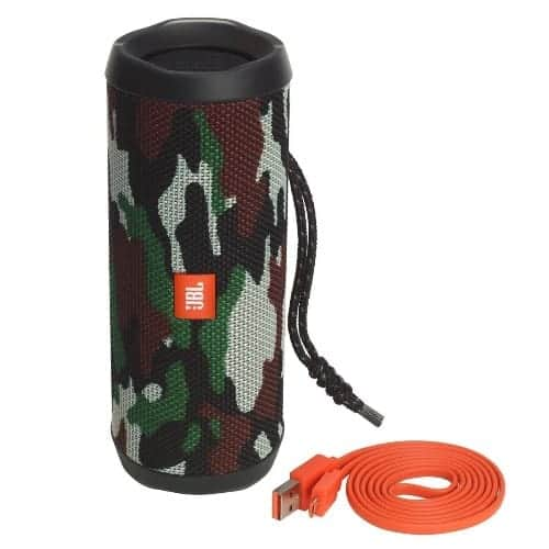 JBL Flip4 Camouflage Bluetooth Speaker