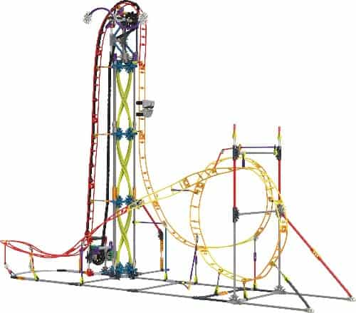 K'NEX Thrill Rides – Electric Inferno Roller Coaster Building Set
