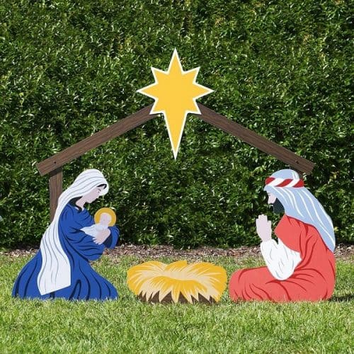 Life Size Outdoor Nativity Set