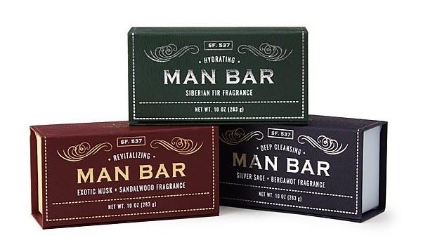 Man Bar Soap Set of 3