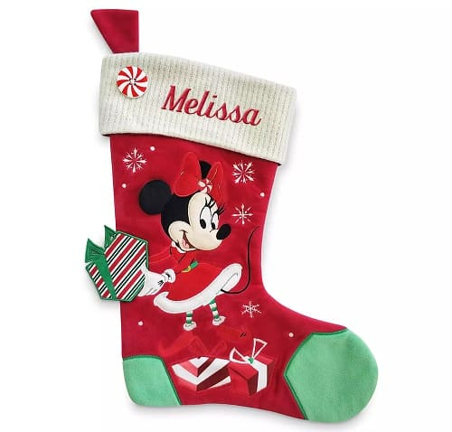 Minnie Mouse Personalized Holiday Stocking