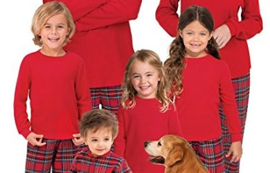 PajamaGram Red Flannel Plaid Matching Family Christmas Pajamas #christmaspajamas