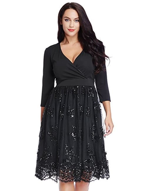 Plus size christmas party dresses absolute