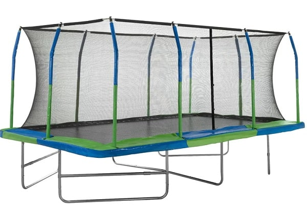 Rectangle Trampoline with Safety Enclosure
