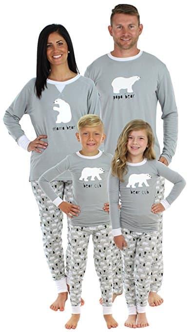 Sleepyheads Polar Bear Matching Family Pajama Set