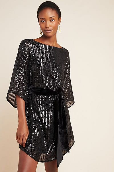 Starling Sequined Tunic Dress