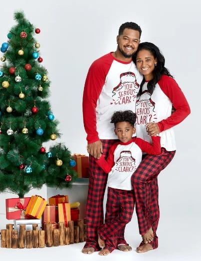 You Serious CLARK Family Matching Pajamas Sets