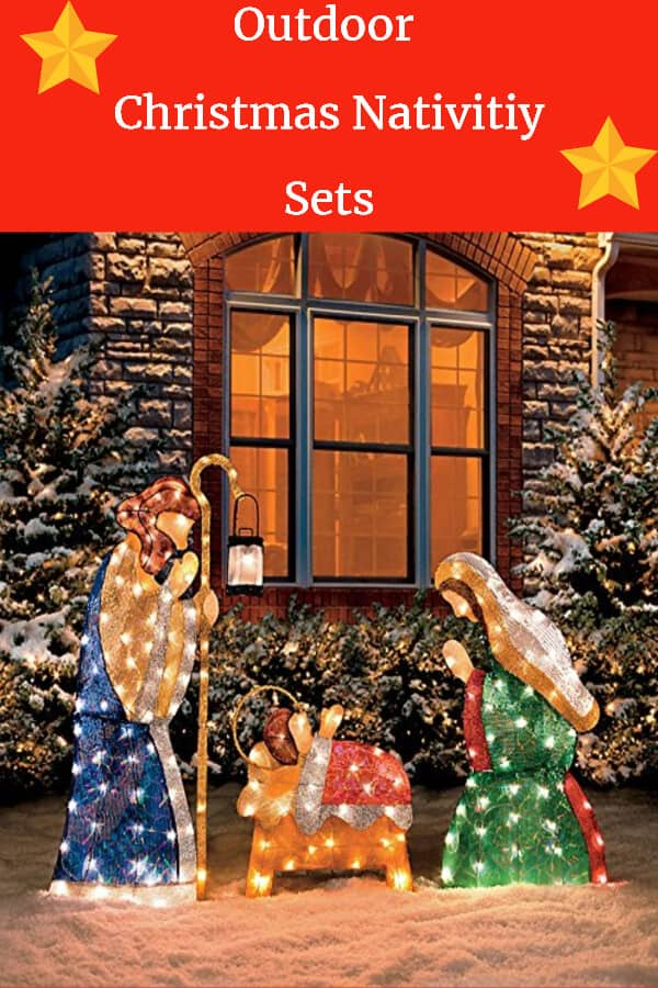 Outdoor Christmas Nativity Sets - Outdoor Lighted Nativity Scenes
