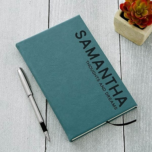 Bold Style Personalized Writing Journal