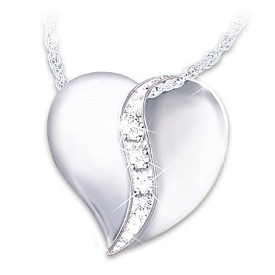 Cherished By Us All Diamond Necklace For Daughter-In-Law