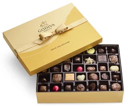 Godiva Assorted Chocolate Gold Gift Box