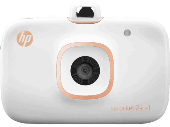 HP Sprocket 2 in 1 Portable Photo Printer & Instant Camera