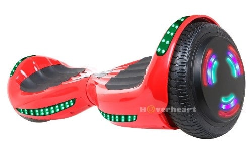 Hoverboard with Flash Wheel, Bluetooth Speaker and LED lights
