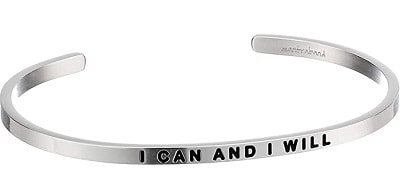 MantraBand I Can and I Will Cuff