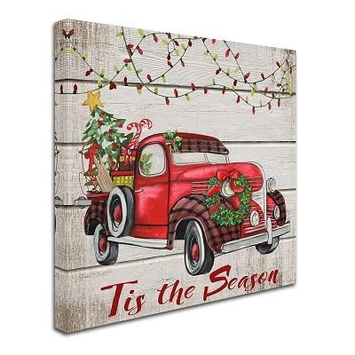 Country Christmas Wall Art