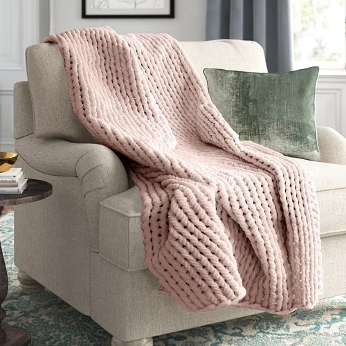 Double Knit Throw Blanket
